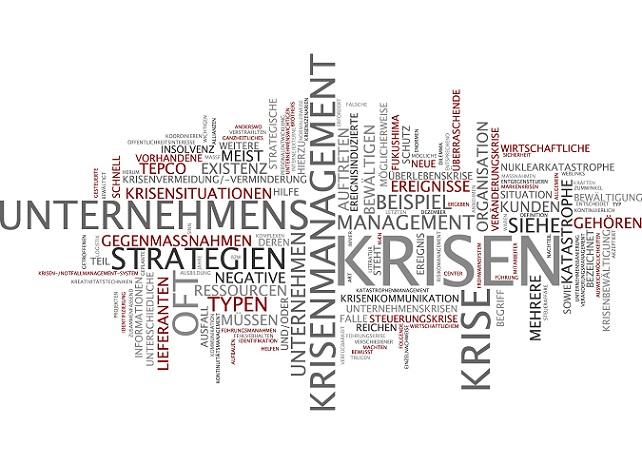 Keinen Zweifel bei Krisen muss ein Krisenmanagement gebildet werden