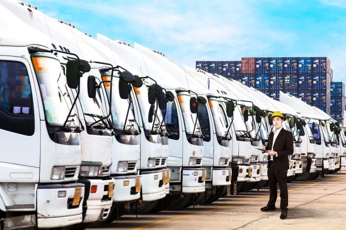 Die Digitalisierung im Bereich der Logistik ist immens wichtig geworden. Hier kann zum Beispiel der firmeninterne Fuhrpark sicher und einfach in Echtzeit gemanagt werden. (#4)