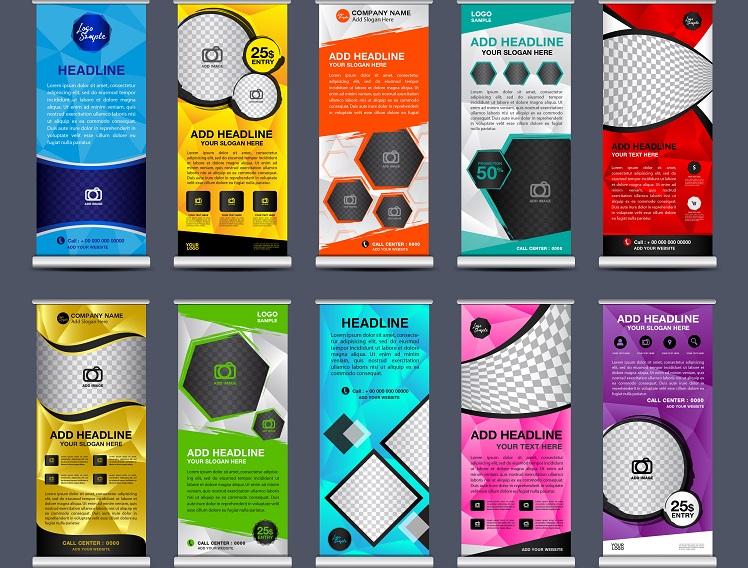 Gibt es heute noch Firmen, die ohne Rollups auskommen? Und wenn ja – wie machen die das? Rollups sind momentan die beste Möglichkeit, kostengünstig und effektiv zu werben. Digitaldruck und Mobilität sei Dank! (#02)