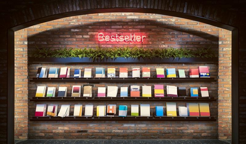 Ein Gespür für die neuesten Trends und ein gutes Verständnis für Verkaufsstrategien sind ebenfalls vorteilhaft für die Ausbildung zum Buchhändler. (#04)