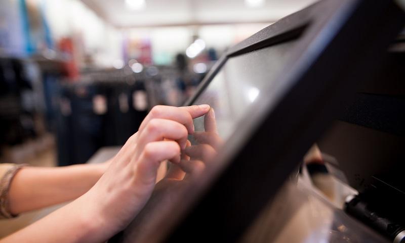 Kundengewinnung Methoden: Direkt im Laden kann man mit nur wenigen Klicks die passende Unterwäsche wählen. (#01)
