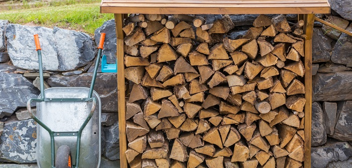 lagerung von brennholz tipps f r s heimische brennerlebnis. Black Bedroom Furniture Sets. Home Design Ideas
