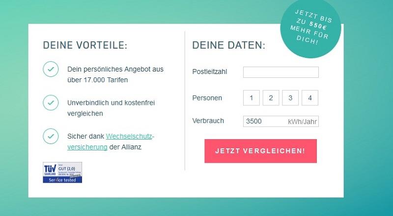 Stromanbieterwechsel: Screenshot von TopTarif.de (#04)