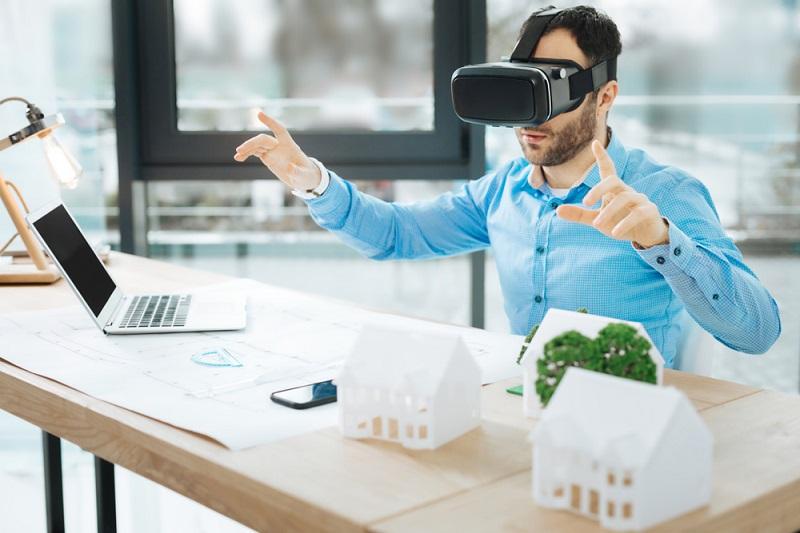 Durch Online-Videochats oder 3D-Modelle von Produkten, die mit VR-Brillen begutachtet werden, lässt sich zwar vieles an Beratung kompensieren, aber auch diese Brille muss man erst einmal besitzen. (#04)