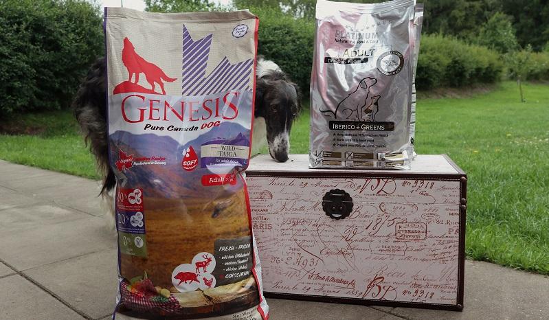 GENESIS Pure Canada WILD TAIGA und PLATINUM Adult IBERICO +GREENS im Hundefutter Test.
