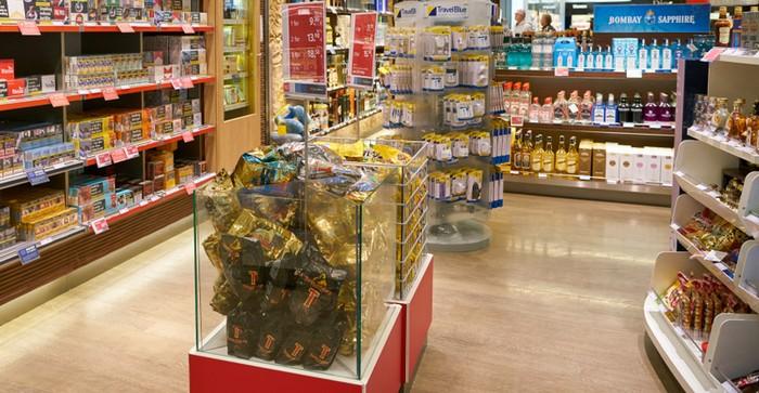 Beispiel für eine Zweitplatzierung von Waren in einer Bodenschütte (Foto: shutterstock - Sorbis)